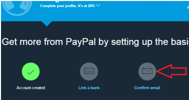 how-to-create-paypal-account-confirm-email