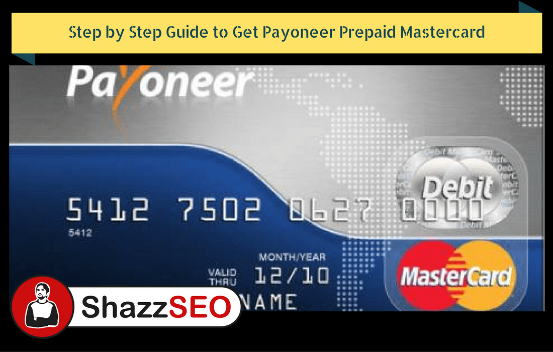 Step by Step Guide to Create Payoneer & Get Payment from Fiverr