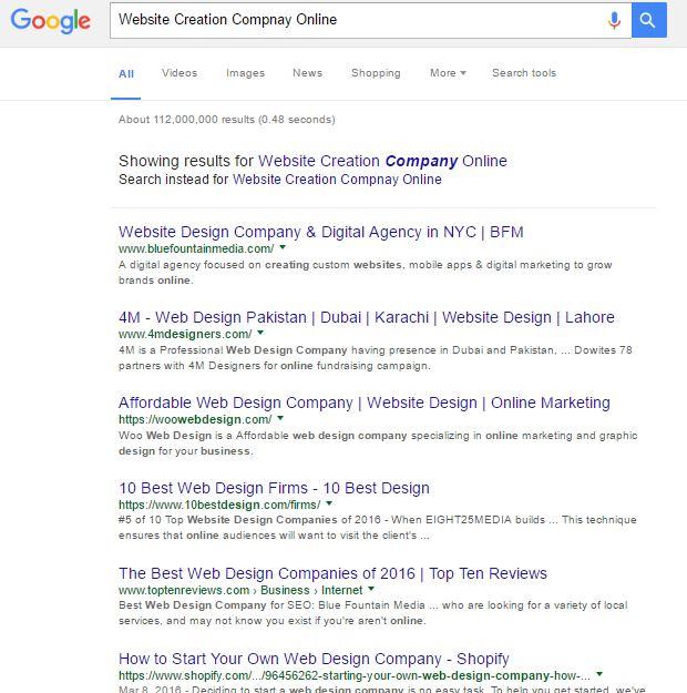 website-creation-company-online