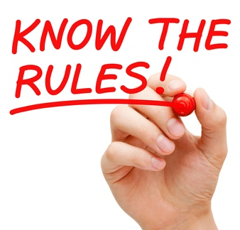 Know the rules of guest post