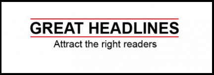 Catchy Headlines for traffic 2018