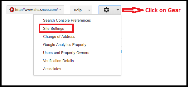 search engine console