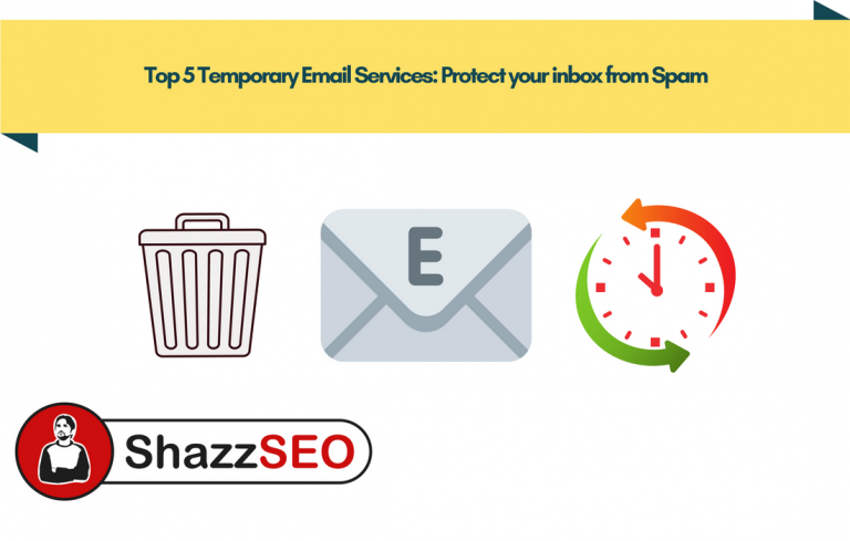 Top 5 Temporary Email Services Protect your inbox from Spam
