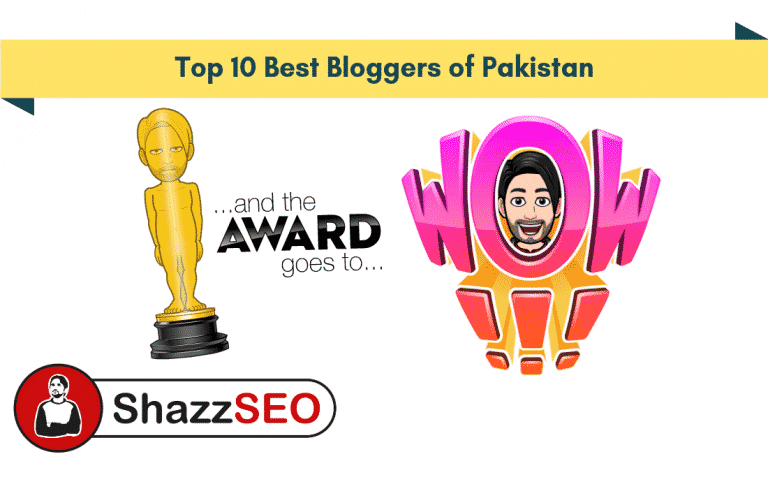 Top 10 Bloggers of Pakistan