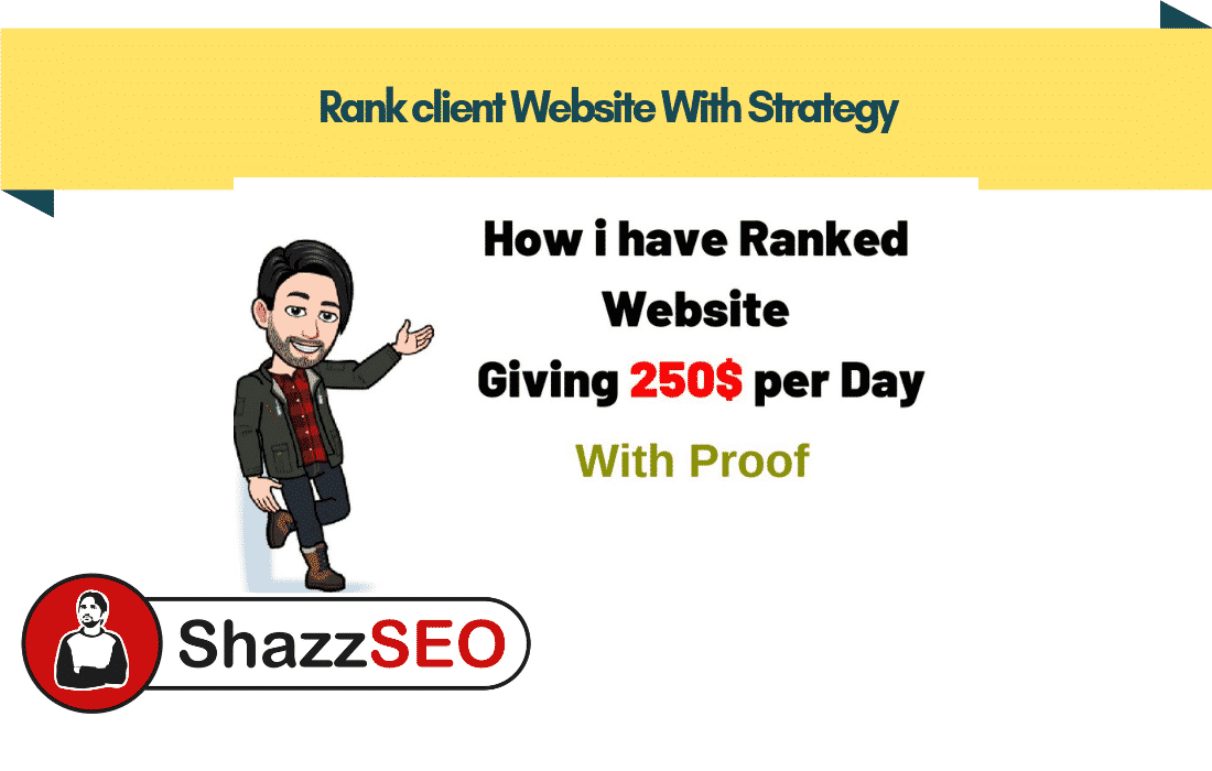 How i have ranked a Website – 250$ Profit Per Day with Proof