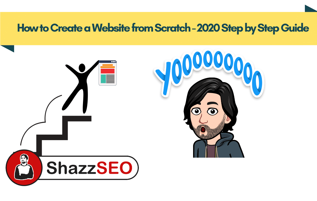 How to Create a Website from Scratch 2020 Step by Step Guide