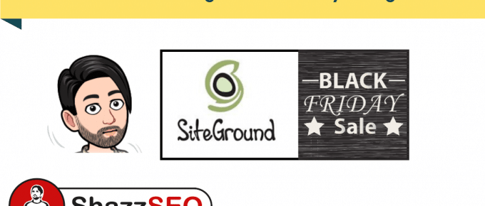 SiteGround Fastest Hosting - Best Black Firday Hosting Deal of 2019