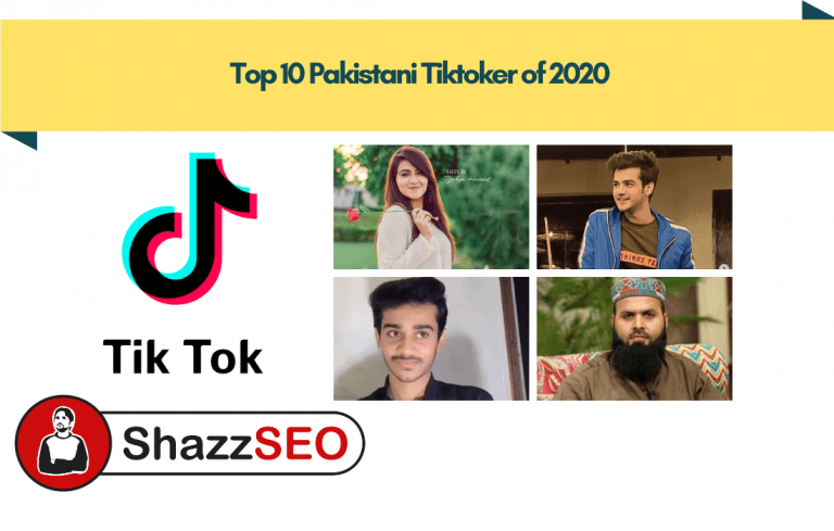 Top 10 Tiktokers of Pakistan 2020 - You Should Follow