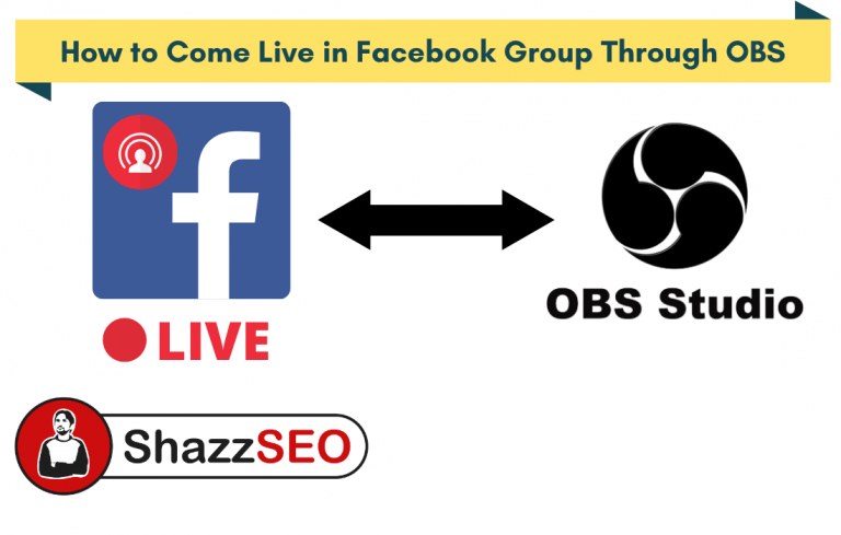 How to Come Live in Facebook Group Through OBS