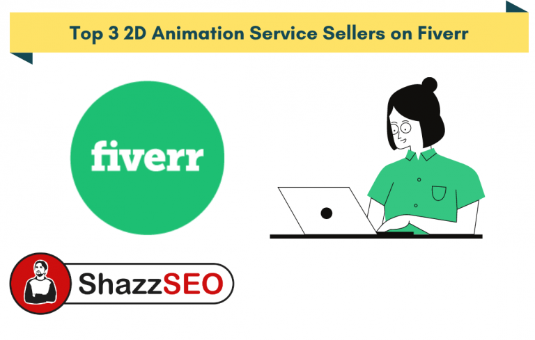 Top 3 2D Animation Service Sellers on Fiverr
