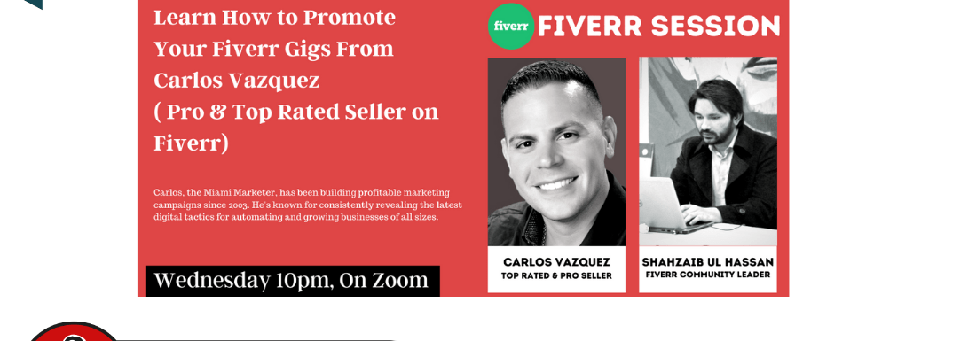 Fiverr Session with Carlos Vazquez Hosted by Shahzaib Ul Hassan – Important Info Revealed