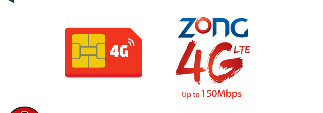 Zong 4G SIM Upgrade Offer to Get 4GB internet Free