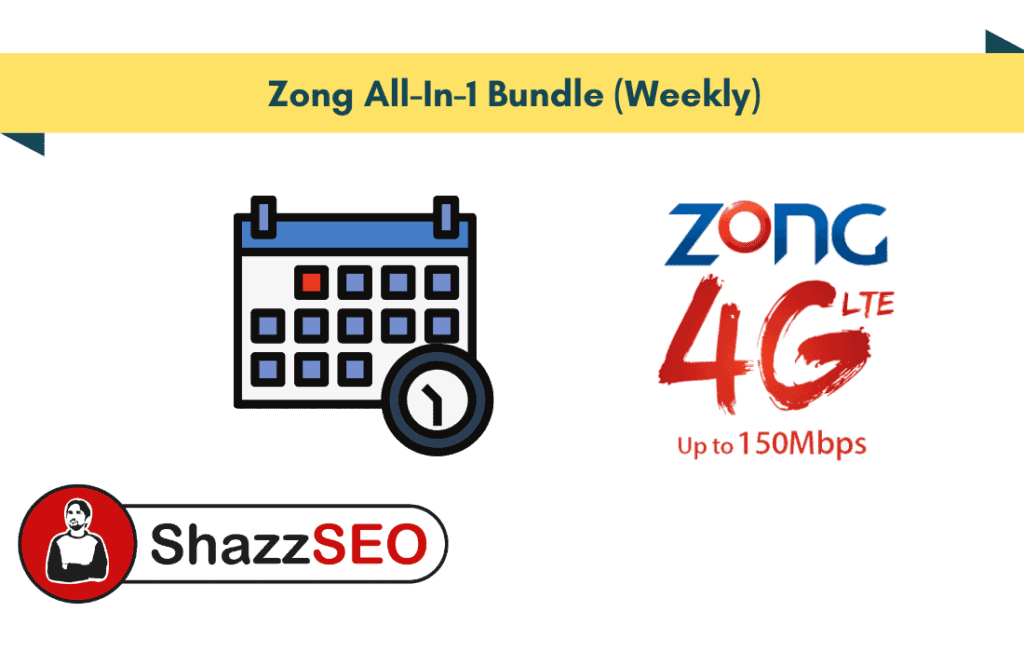 Zong All-In-1 Bundle (Weekly)