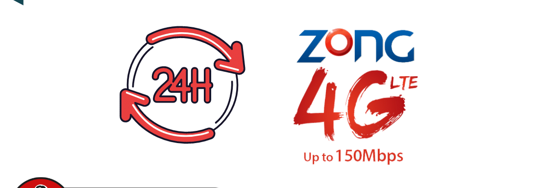 Zong Daily Data Max 3G / 4G Package 2021- Get 500MB