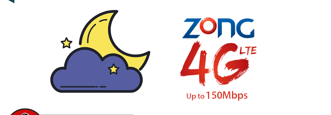 Zong Good Night 3G / 4G Package 2021 – Best Night Package