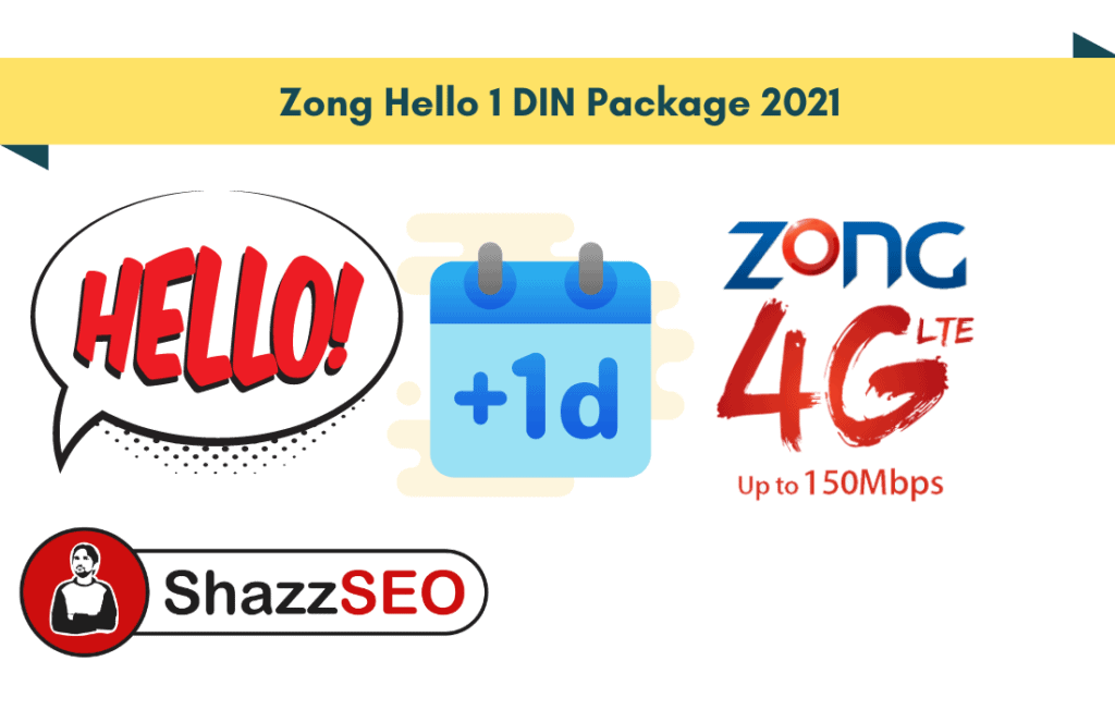 Zong Hello 1 DIN Package 2021