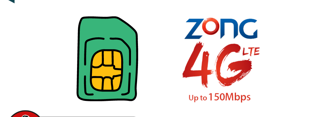 Zong New SIM Offer 2021 – Get 4GB Internet & Minutes Free