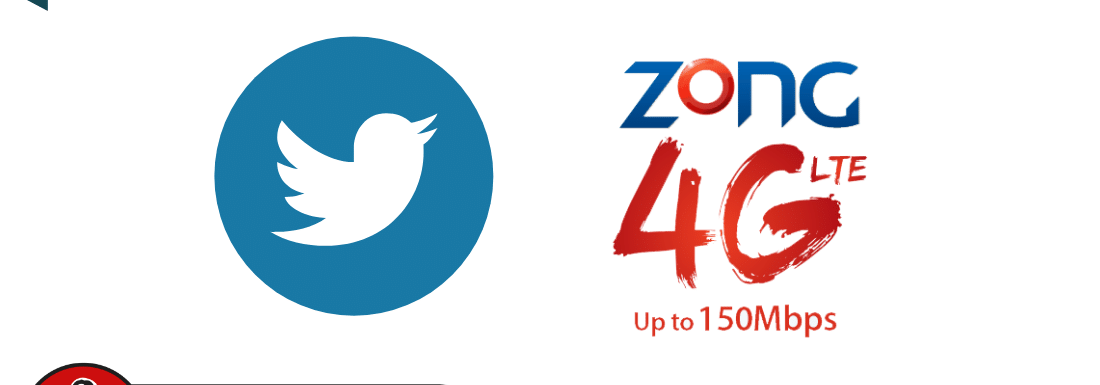 Zong Twitter Only 3G / 4G Package of 2021